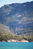 Hazards Ranges Tasmania Royalty Free Stock Images