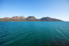 Hazards Ranges Tasmania Royalty Free Stock Photo