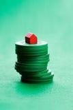 hazardu rynek budownictwa mieszkaniowego Obraz Royalty Free