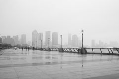 Haze in china Stock Images