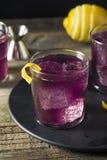 Haze Cocktail púrpura hecho en casa Imágenes de archivo libres de regalías
