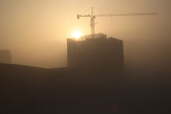 Haze days royalty free stock images