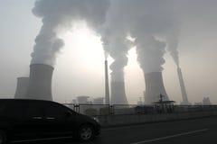 Haze days Stock Image
