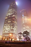 Haze and dust in Shanghai China Royalty Free Stock Photography