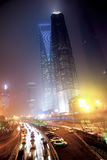 Haze and dust in Shanghai China Stock Image