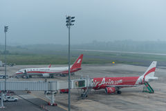 Haze at krabi airport Royalty Free Stock Photos