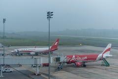 Haze at krabi airport Royalty Free Stock Photos
