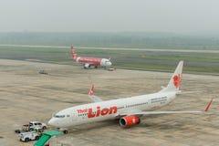 Haze at krabi airport Stock Photos