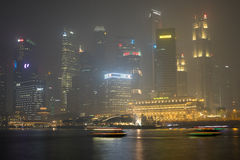Haze in Singapore Stock Photos