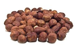 Hazel nuts Stock Photos