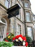 Hazelbank hotell i England Royaltyfria Foton