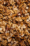Hazelnut and almond texture Royalty Free Stock Image