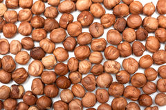 Hazelnut background Stock Photography