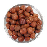 Hazelnut bowl Royalty Free Stock Photo