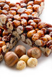 Hazelnut brittle Stock Images