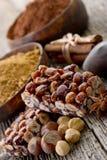 Hazelnut brittle Stock Image