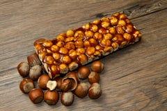 Hazelnut brittle Royalty Free Stock Image