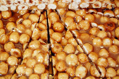 Hazelnut brittle Stock Images