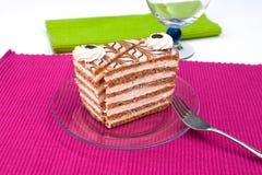 Hazelnut cake Royalty Free Stock Image