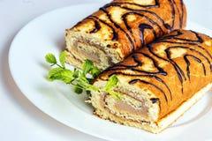 Hazelnut cake Stock Image