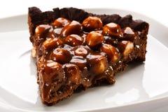 Hazelnut cake Stock Photography