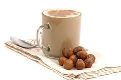 Hazelnut Cappucinno Stock Image