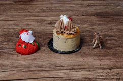 Hazelnut & Chestnut Cheesecake Royalty Free Stock Photos