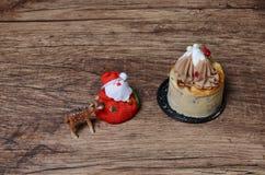 Hazelnut & Chestnut Cheesecake Royalty Free Stock Images