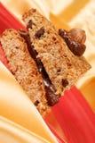 Hazelnut and chocolate cake Royalty Free Stock Photography