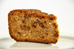 Hazelnut and chocolate cake Stock Photos