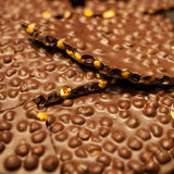 Hazelnut chocolate Stock Photos