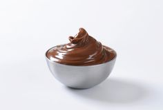 Hazelnut chocolate spread Royalty Free Stock Photography