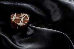 Hazelnut chocolate with toffee bits Stock Photo