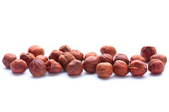 Hazelnut closeup Royalty Free Stock Photos