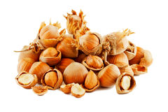 Hazelnut Composition Royalty Free Stock Image