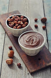 Hazelnut cream Royalty Free Stock Photo