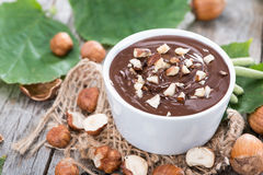 Hazelnut Cream Stock Images