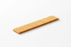 Hazelnut cream wafer Royalty Free Stock Image