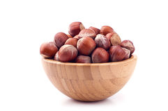 Hazelnut in a cup Royalty Free Stock Photo