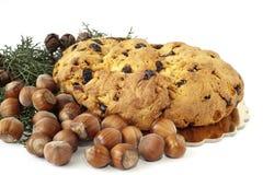 Hazelnut and Italian cake 1 Stock Photo
