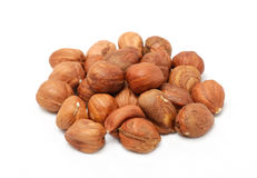 Hazelnut Kernels Royalty Free Stock Images