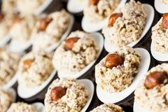Hazelnut macaroons Stock Photography