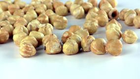 Hazelnut Macro View. Food Ingredient Healthy and Energy video stock video footage