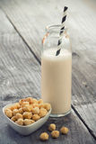 Hazelnut milk Stock Photography