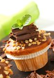 Hazelnut muffin Stock Images