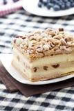 Hazelnut Napoleon Cake Stock Photography