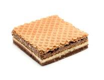 Hazelnut wafer Stock Image