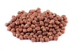Hazelnuts. Tasty food hazelnuts, natural nuts Stock Photo