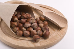 Hazelnuts Royalty Free Stock Photography
