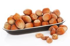 Hazelnuts. Stock Photo